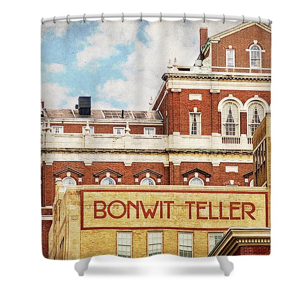 Bonwit Teller Shower Curtain