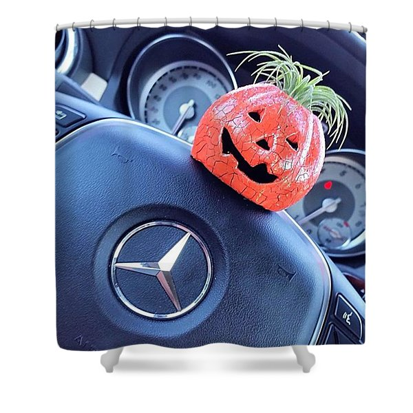 #boo! My #car Is Getting Excited About Shower Curtain