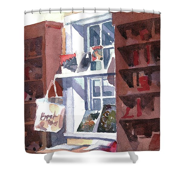 Book Bag Shower Curtain