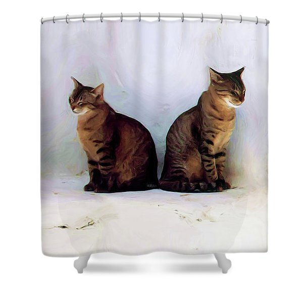 Bookends - Rdw250805 Shower Curtain