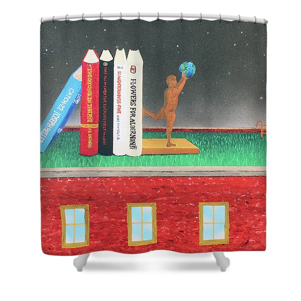 Books Of Knowledge Shower Curtain