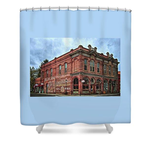 Boomtown Saloon Jacksonville Oregon Usa Shower Curtain