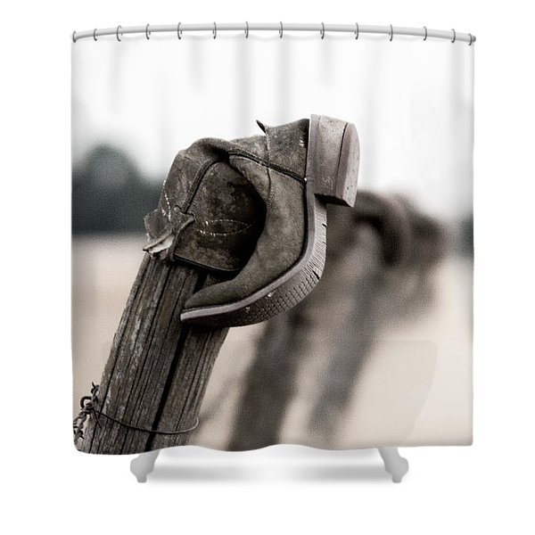 Boot 5 Shower Curtain
