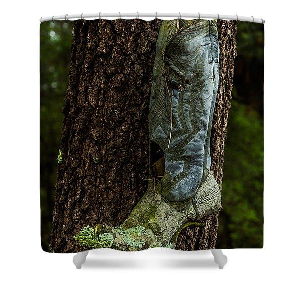 Boot Nest Shower Curtain