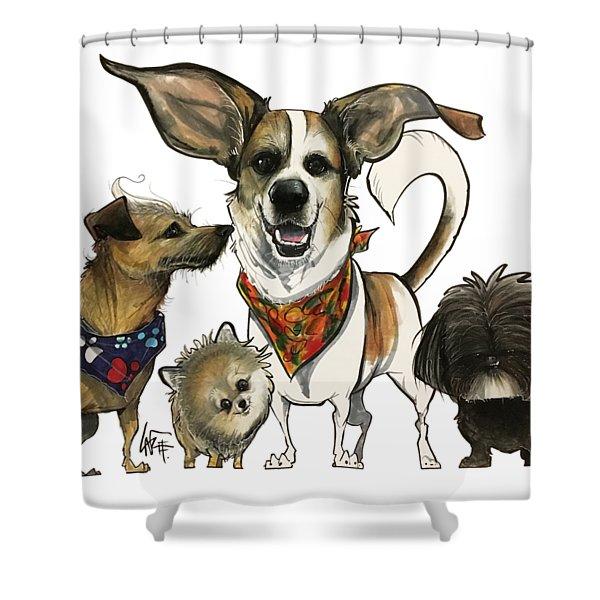 Bosco 7-1502 Shower Curtain