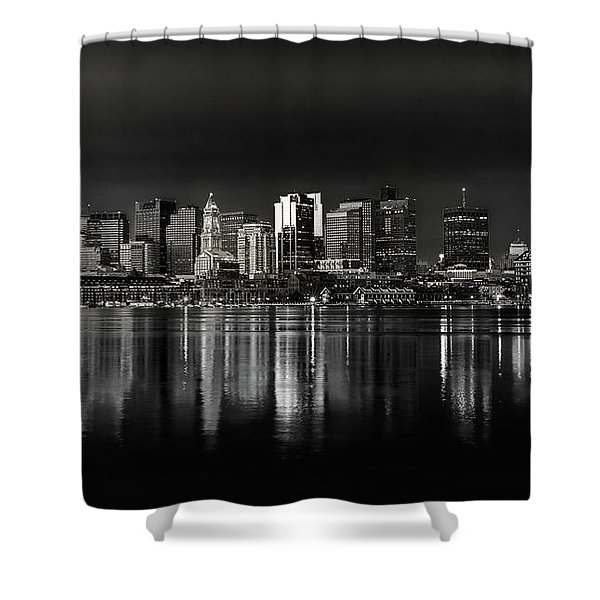 Boston Sunrise Shower Curtain