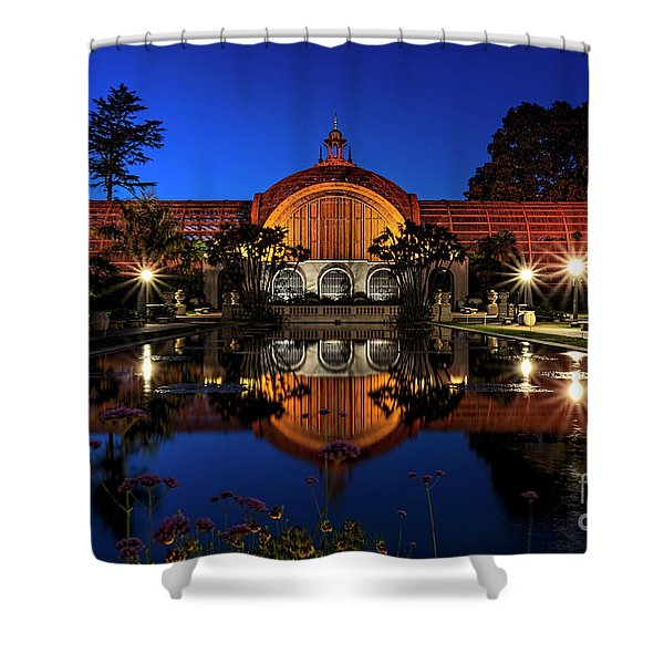 Botanical Gardens At Balboa Shower Curtain