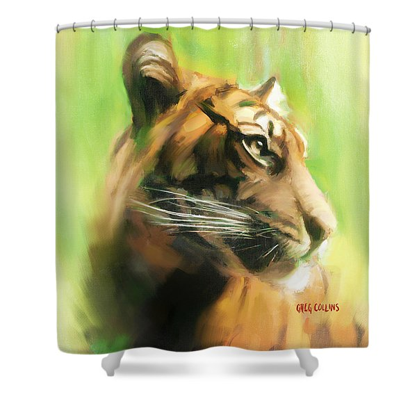 Bote Danjere Shower Curtain