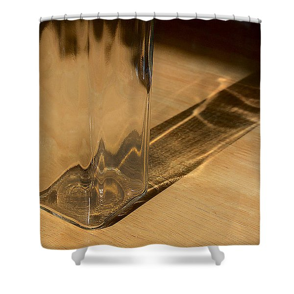 Bottle And Shadow 0925 Shower Curtain