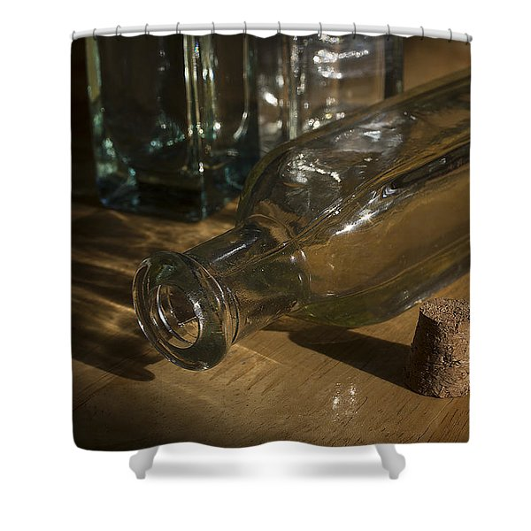 Bottles And Cork 1002 Shower Curtain