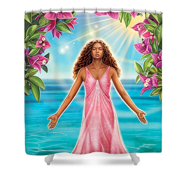 Bougainvillea - Purify Shower Curtain