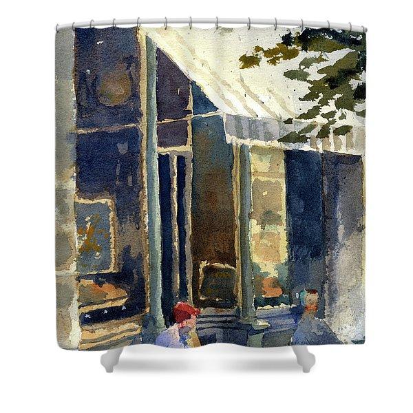 Boulangerie Du Monde, Cedarburg Shower Curtain