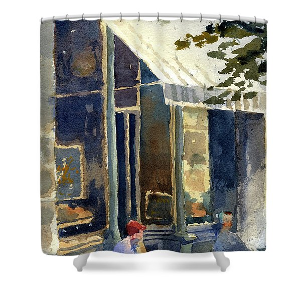 Boulangerie Du Monde, Cedarburg Shower Curtain
