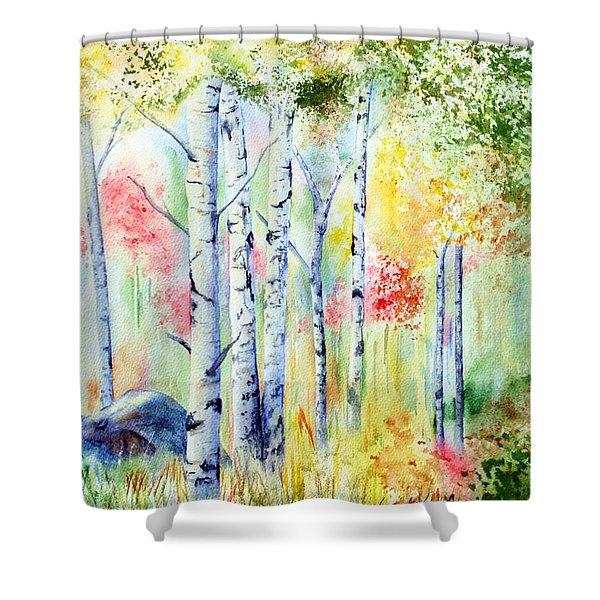 Boulder Grove Shower Curtain