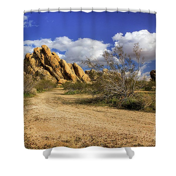 Boulders At Apple Valley Shower Curtain
