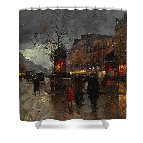 Boulevards Of Paris Shower Curtain