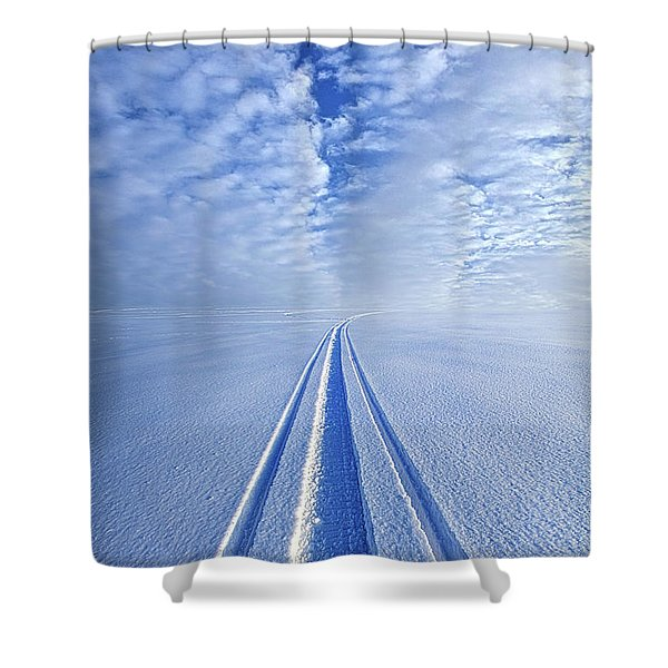 Boundless Infinitude Shower Curtain