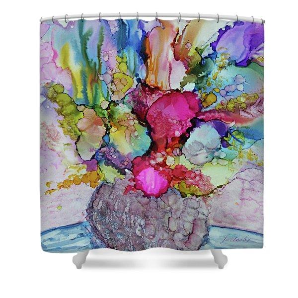 Bouquet In Pastel Shower Curtain