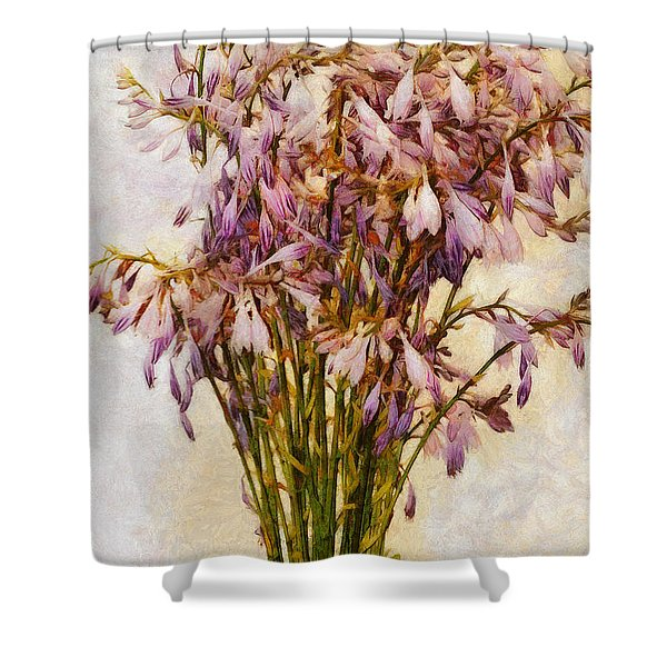 Bouquet Of Hostas Shower Curtain