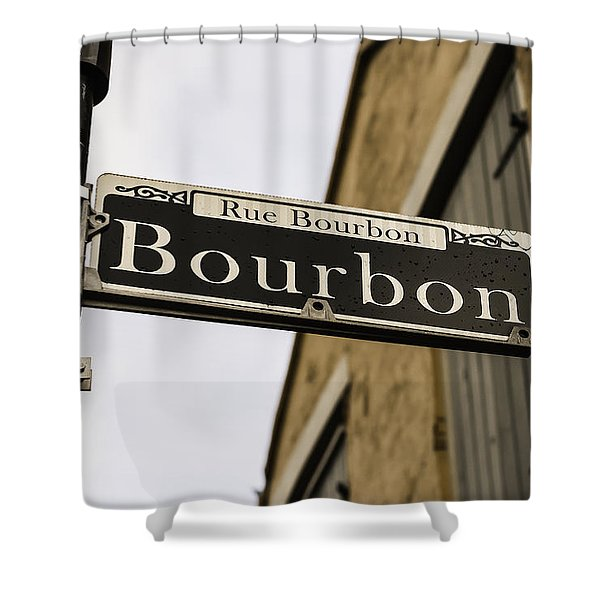 Bourbon Street, New Orleans, Louisiana Shower Curtain