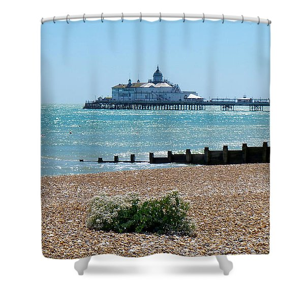 Bournemouth Seaside View Shower Curtain