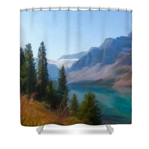 Bow Lake Shower Curtain