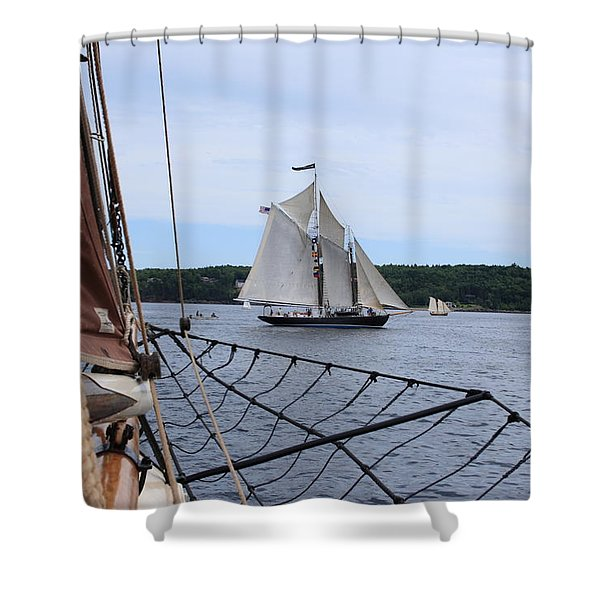 Bowditch Shower Curtain