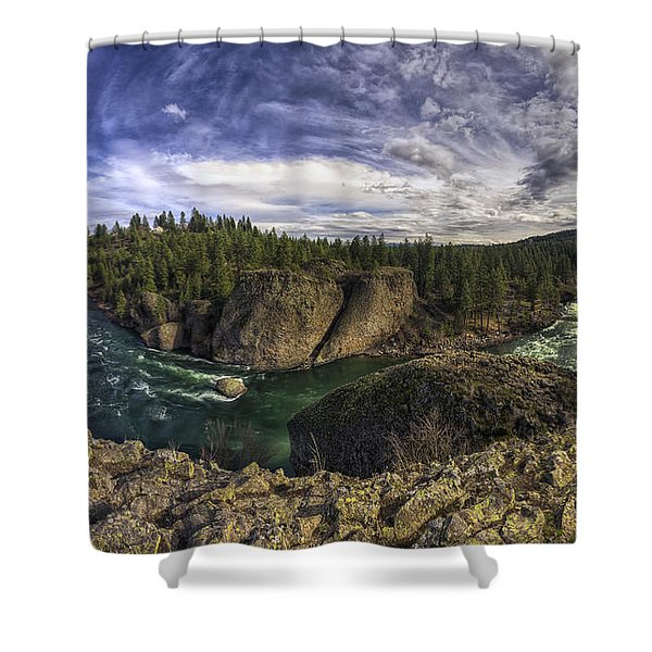 Bowl And Pitcher 2 Shower Curtain