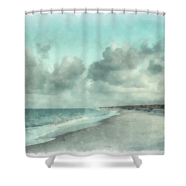 Bowman Beach Sanibel Island Florida Shower Curtain