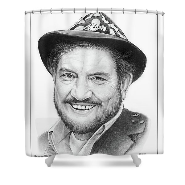 Boxcar Willie Shower Curtain