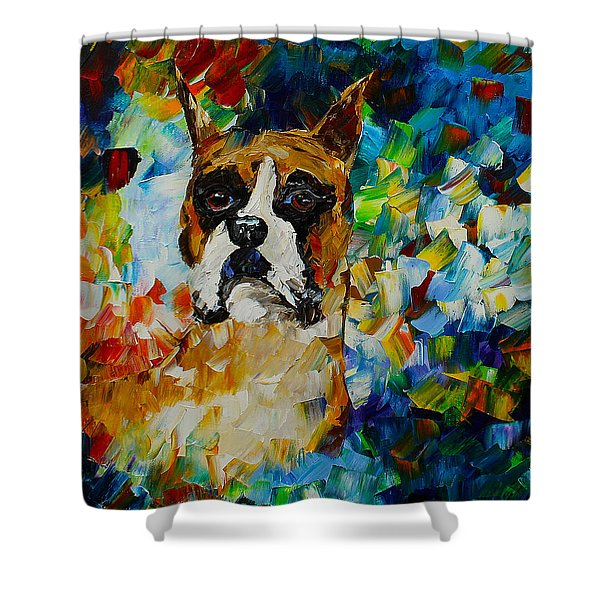 Boxer Shower Curtain