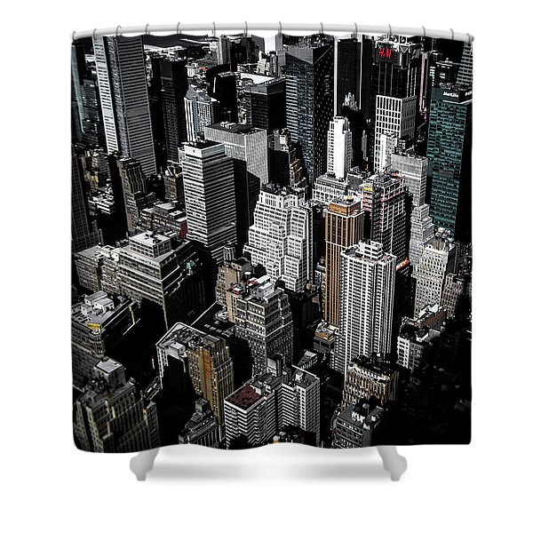 Boxes Of Manhattan Shower Curtain