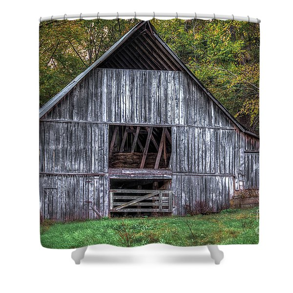 Boxley Valley Barn  Shower Curtain
