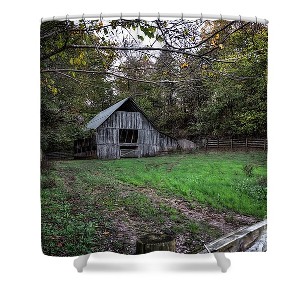 Boxley Valley Shower Curtain