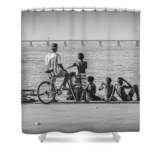 Boys From Brazil Shower Curtain