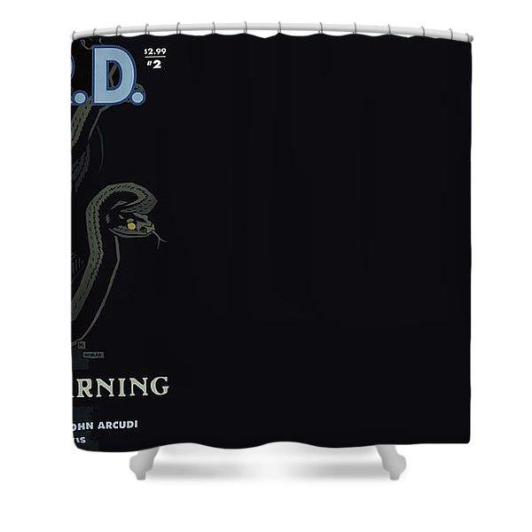 B.p.r.d. Shower Curtain