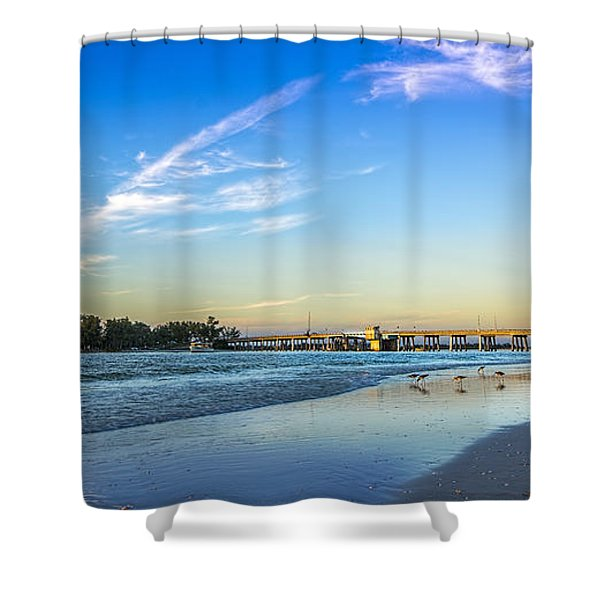 Bradenton Inlet Shower Curtain