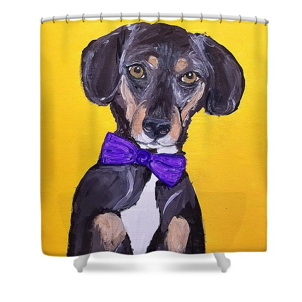 Brady Date With Paint Nov 20th Shower Curtain