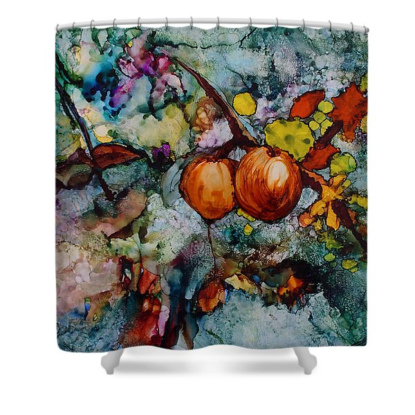 Branches Of Fruit Shower Curtain