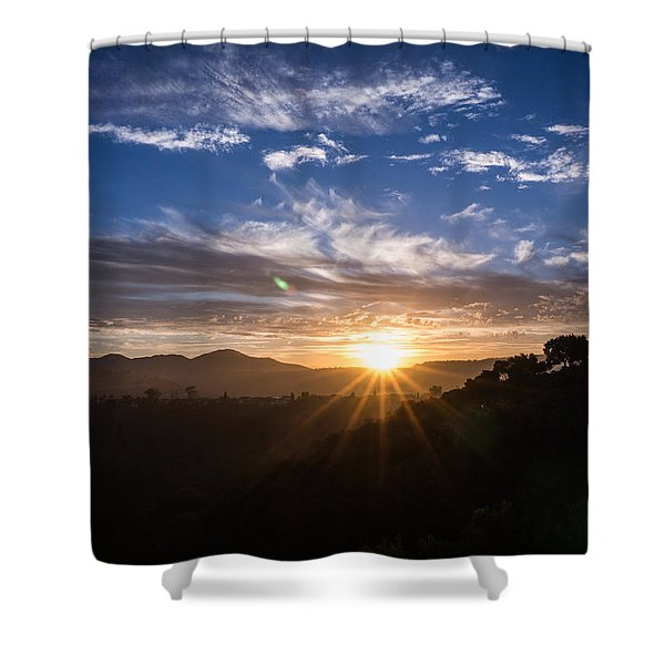 Brand New Day  Shower Curtain