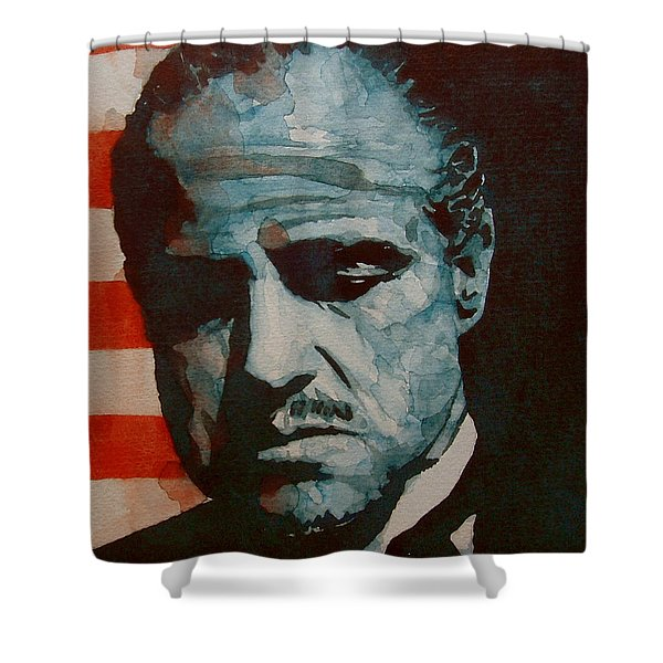 The Godfather-brando Shower Curtain