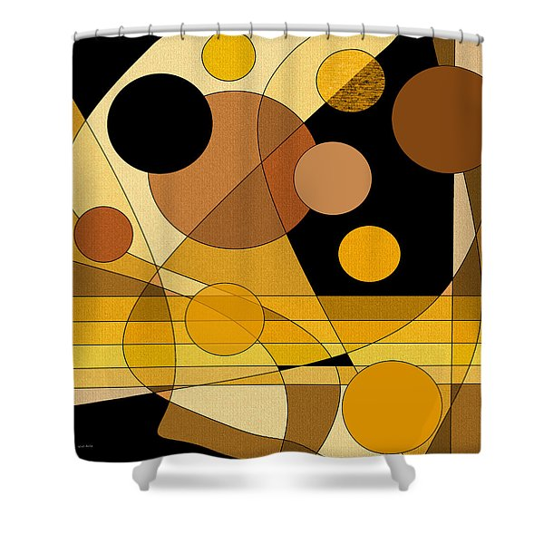 Brass Shower Curtain