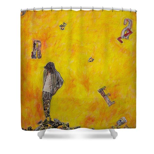 Brazen Shower Curtain