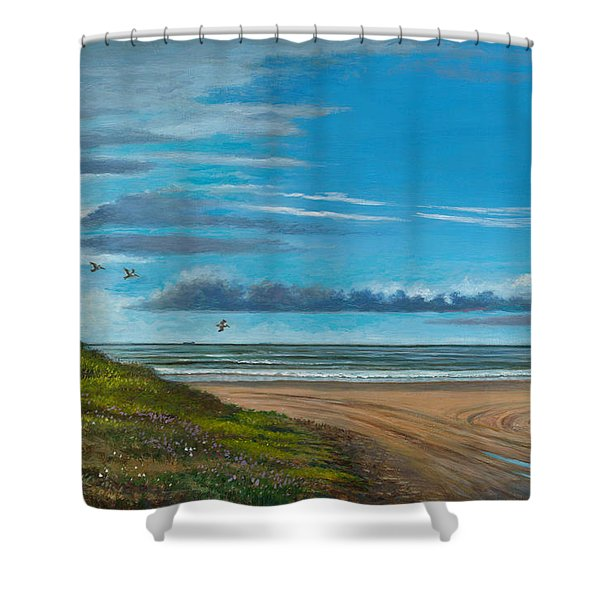 Breakfast Time Shower Curtain