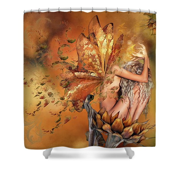 Breath Of Autumn Shower Curtain