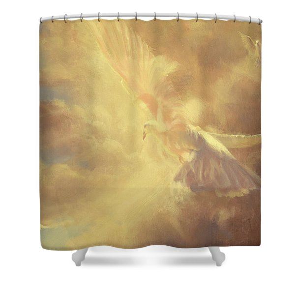 Breath Of Life Shower Curtain