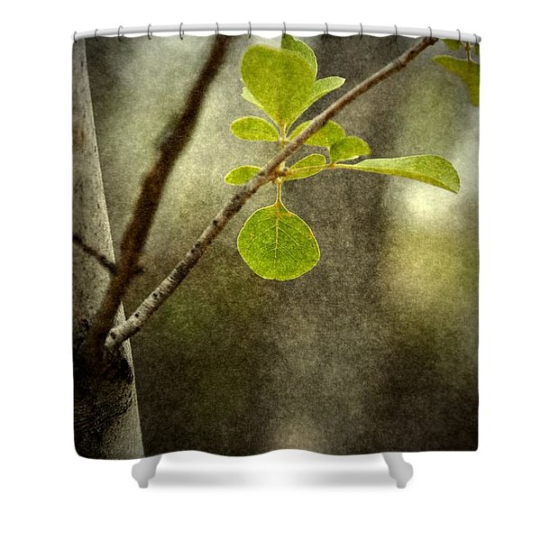 Breathe With Me Shower Curtain