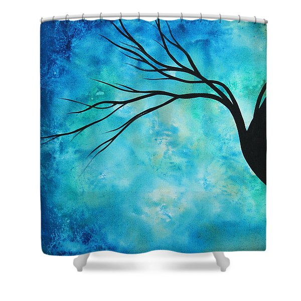 Breathless 1 By Madart Shower Curtain