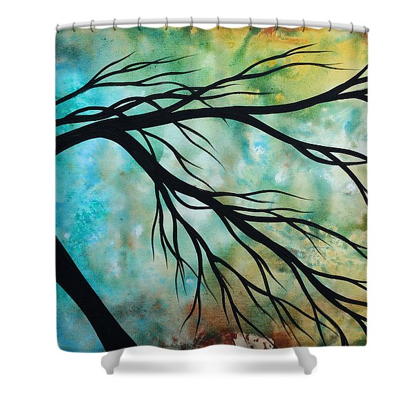 Breathless 2 By Madart Shower Curtain