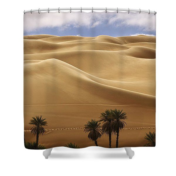 Breathtaking Sand Dunes Shower Curtain